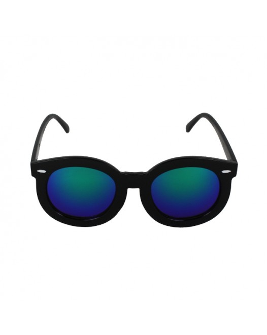 White Arrow Stylish New Round Blue Wayfarer Sunglasses