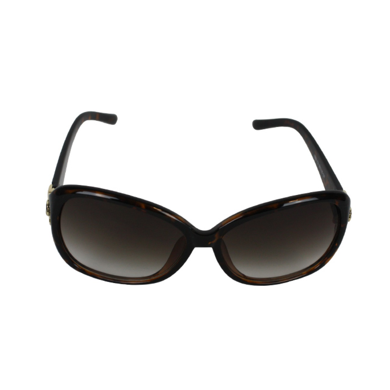 Chanel Flower Women's Smoke Tint Resin texture Sunglasses