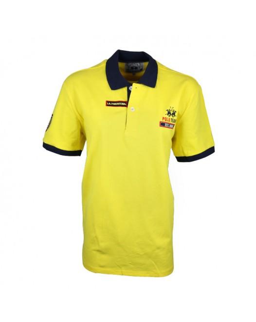 Men's Yellow Polo Collared Neck Tees