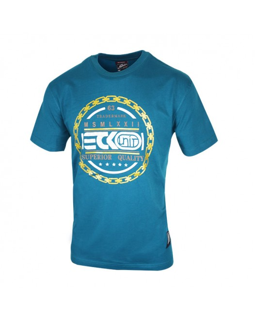 Men's Crew Neck Short Sleeve Blue Tees