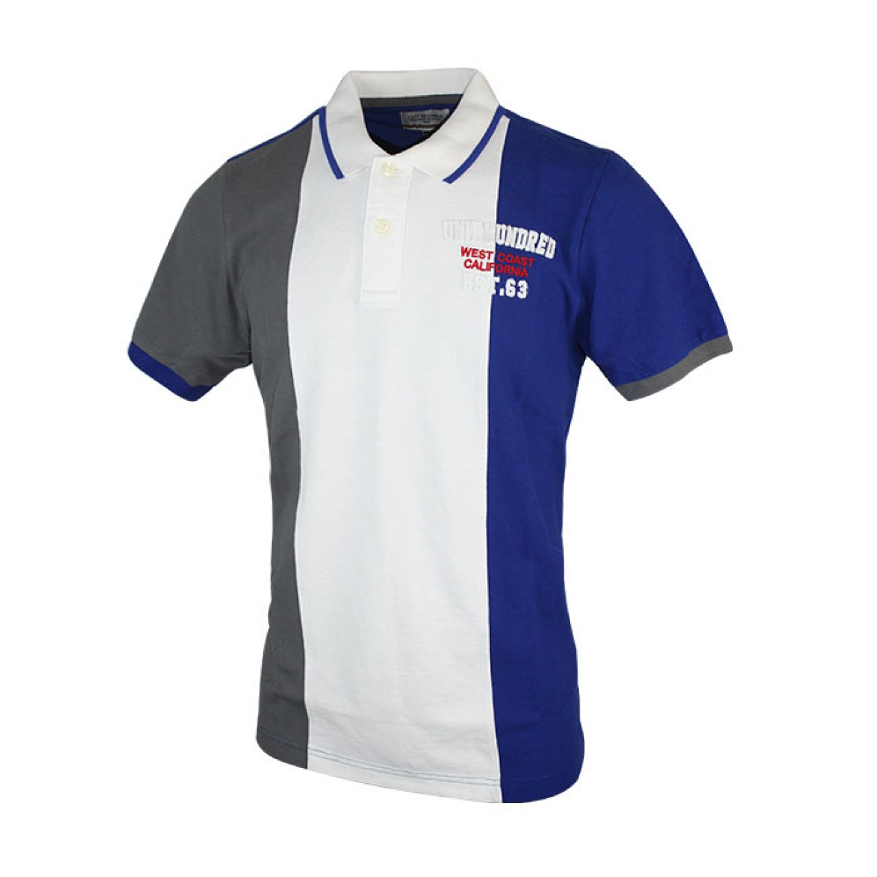 Men's Triple Color Collared Tees