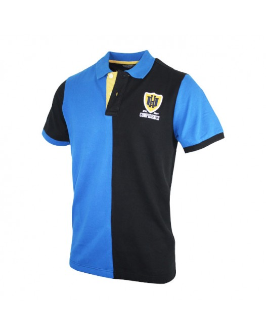 Men's Stylish Double Color Collared Tees