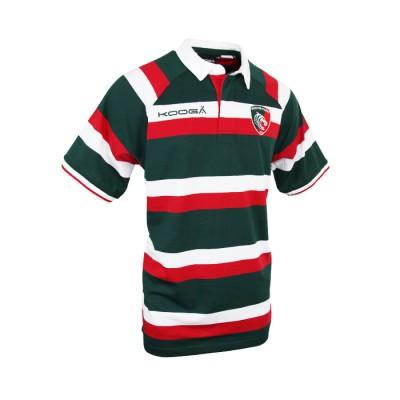 Kooga Multi Color Striped Polo Shirt