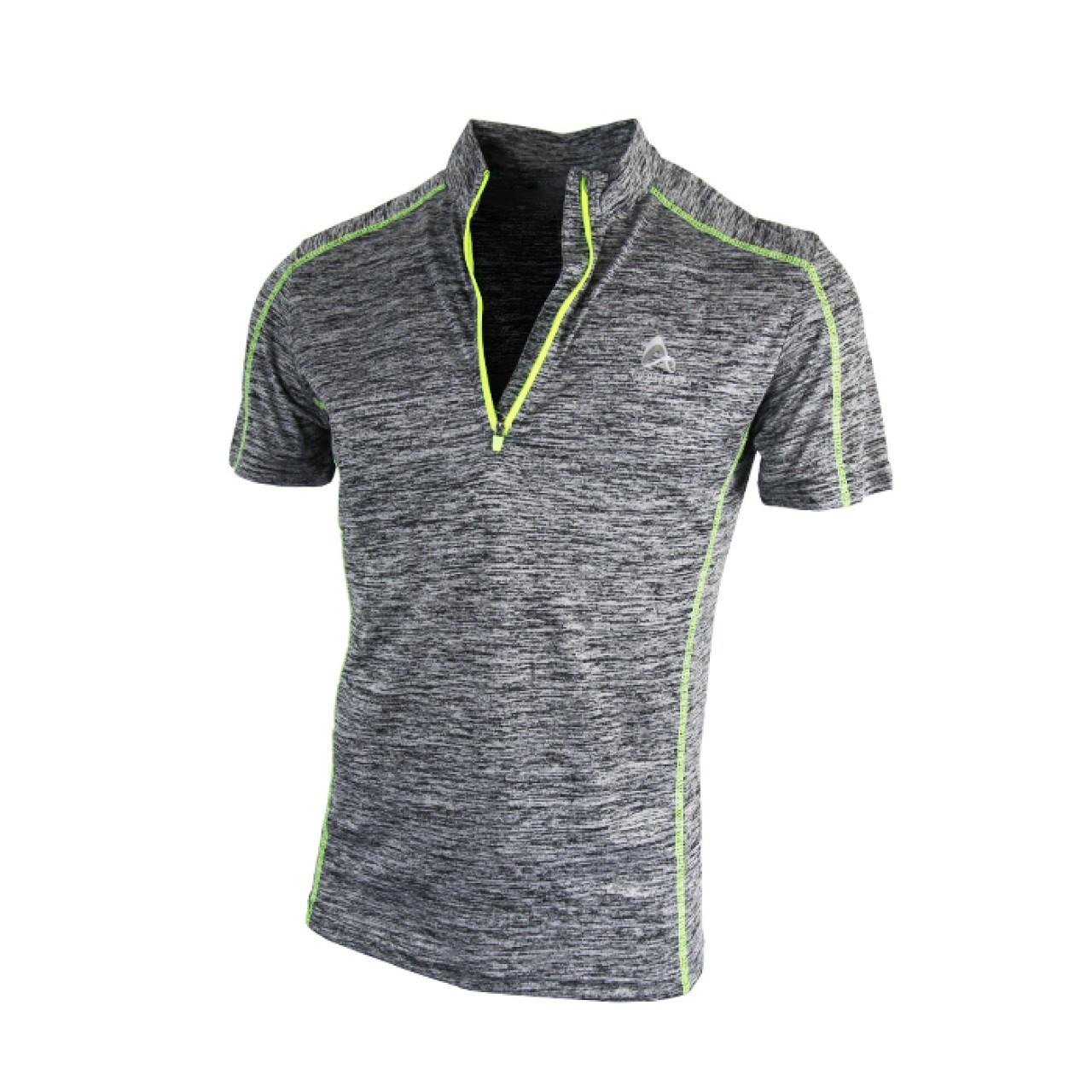 Comfy Sport Striped Grey T-Shirt