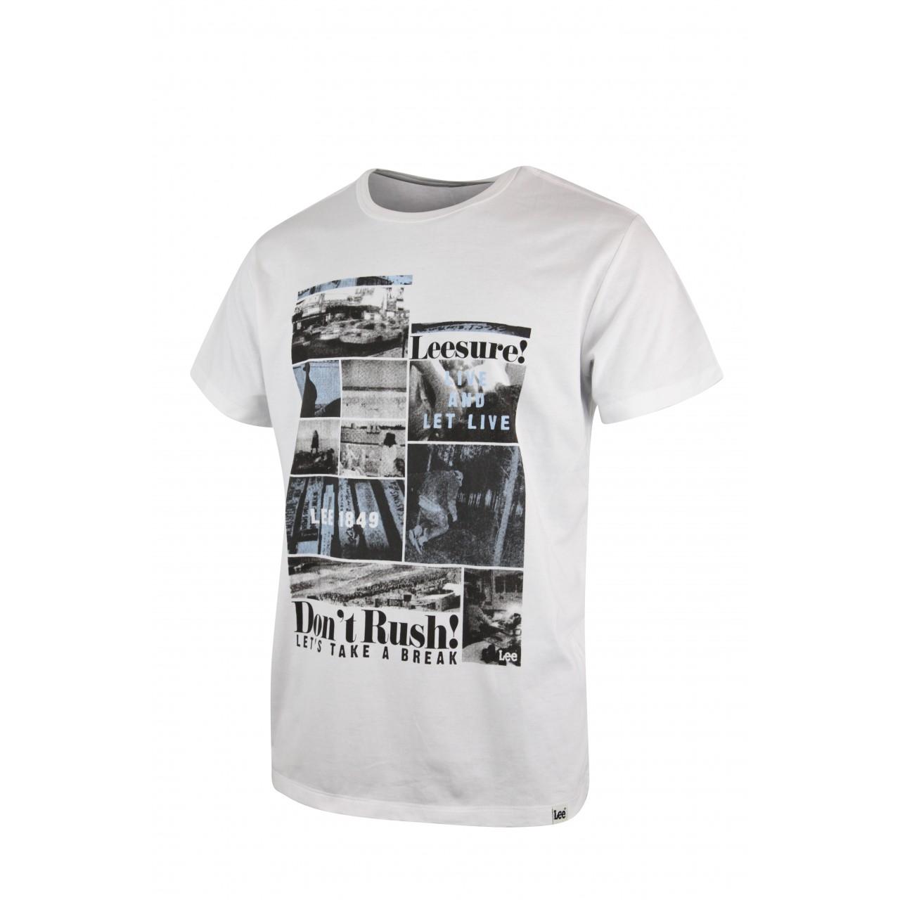 TAKE A BREAK Men's Softy Crew Neck T-shirt