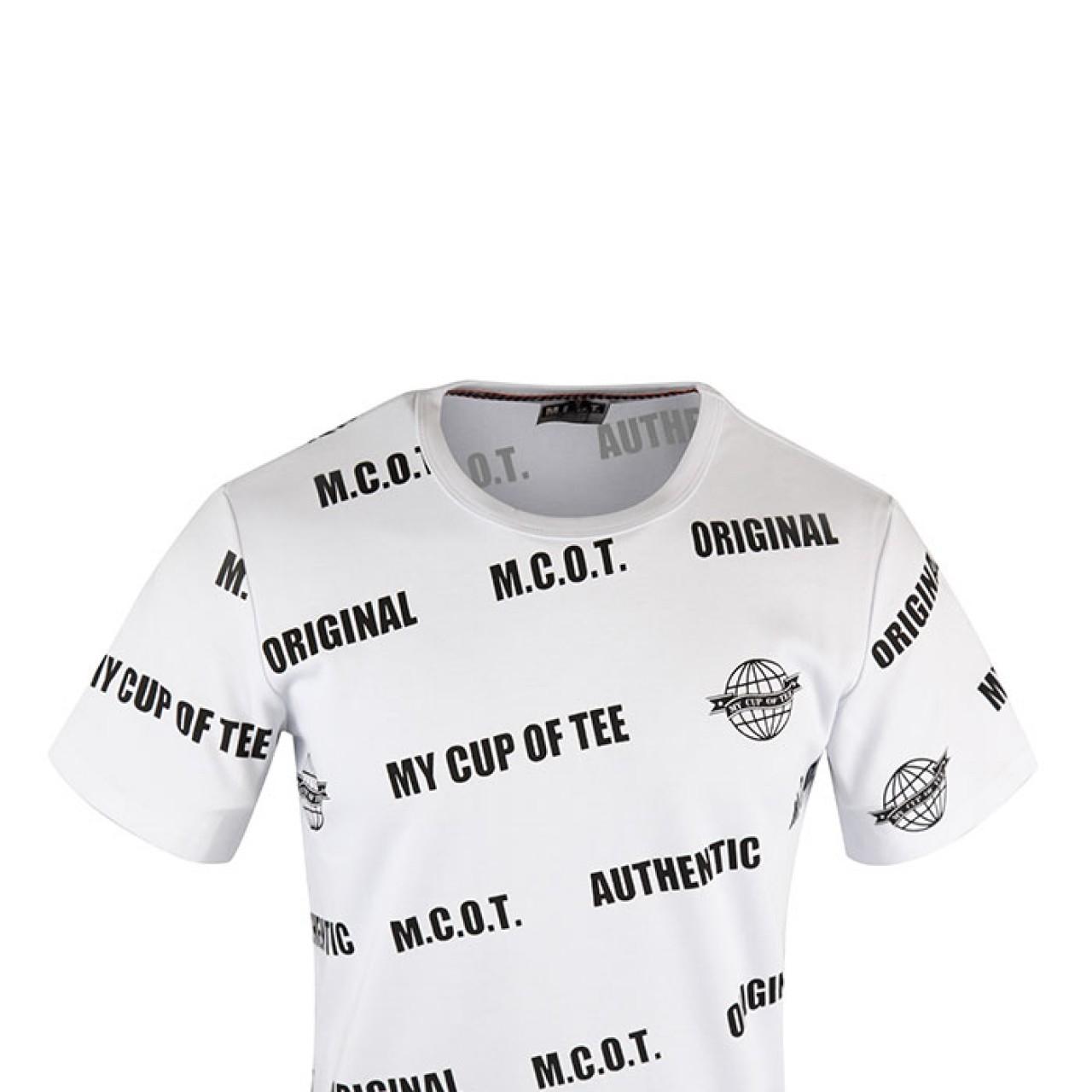Men's High Range Slogan Printed T-shirt