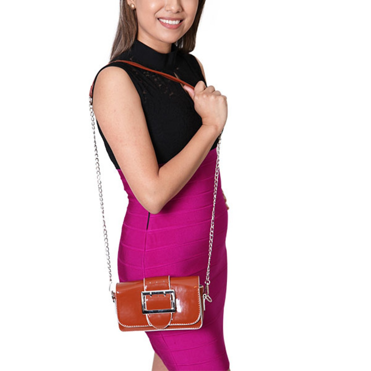 Women Pencil Fit Skirt With Sleeveless Top