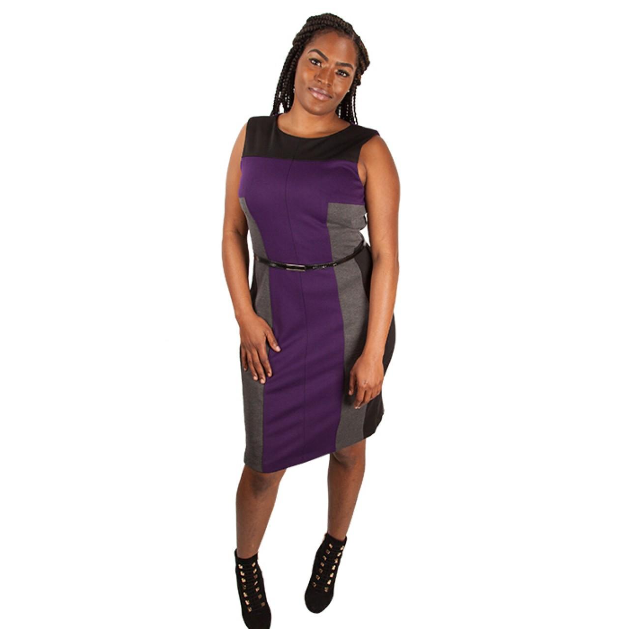 Formal Little Stylish Sheath Sleeveless Dress