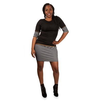 Latest Solid Black Skirts