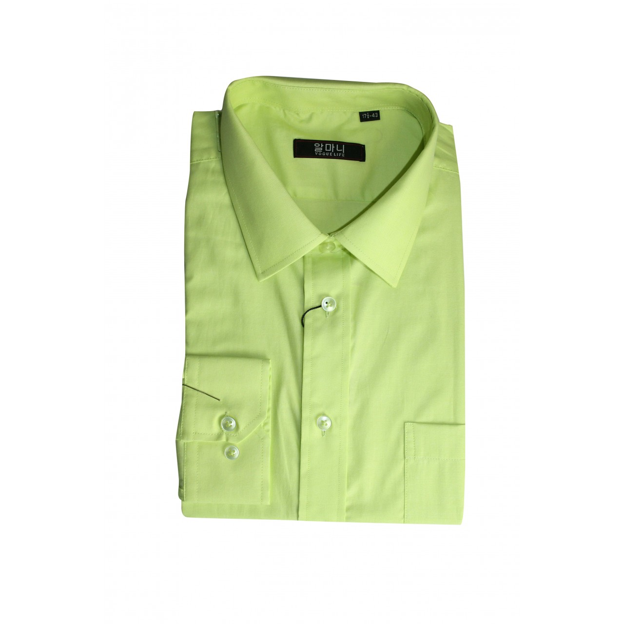 Men's Formal basic VOGUE LIFE Light green shirt Set
