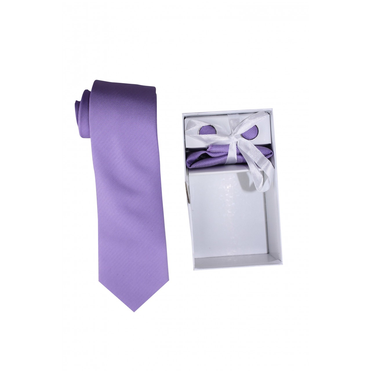 Men's Formal Basic VOGUE LIFE  Violet Shirt - Set