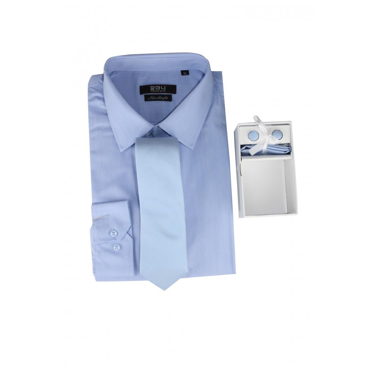 VOGUE LIFE Basic Formal Shirt With Set