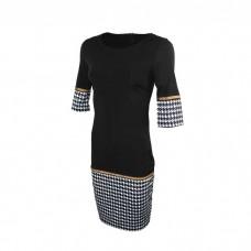 Women's Long Midi dress black