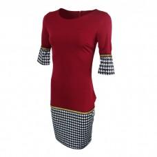 Women's Long Midi dress Red