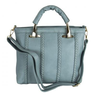 Blue Solid Shoulder/tote Bag