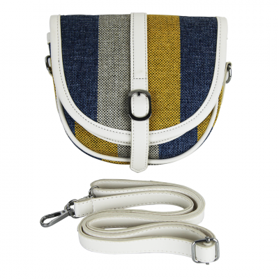 Multi-color Stripes Tote/Crossbody Women's Bag