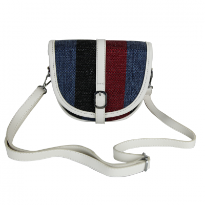 Classic Multi-color Modern Stripes Tote/Crossbody Women's Bag