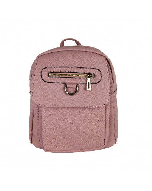 Simple Rose Garment Backpack Bag