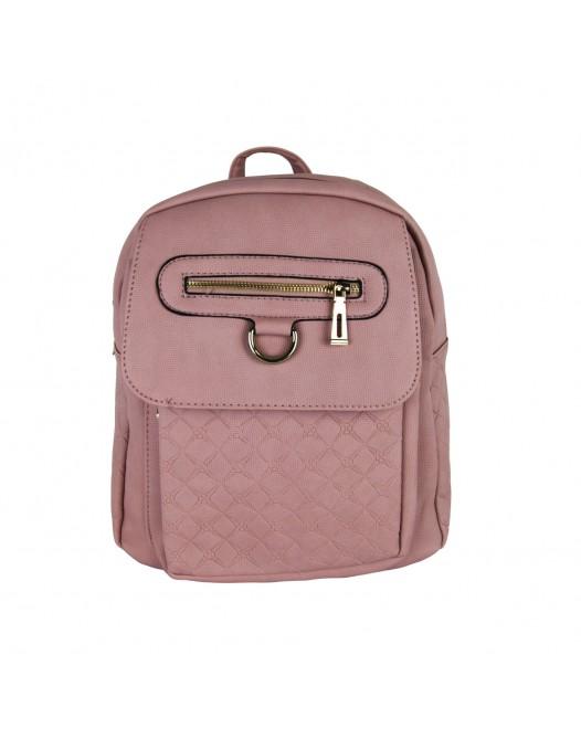 Simple Rose Garment Backpack Bag