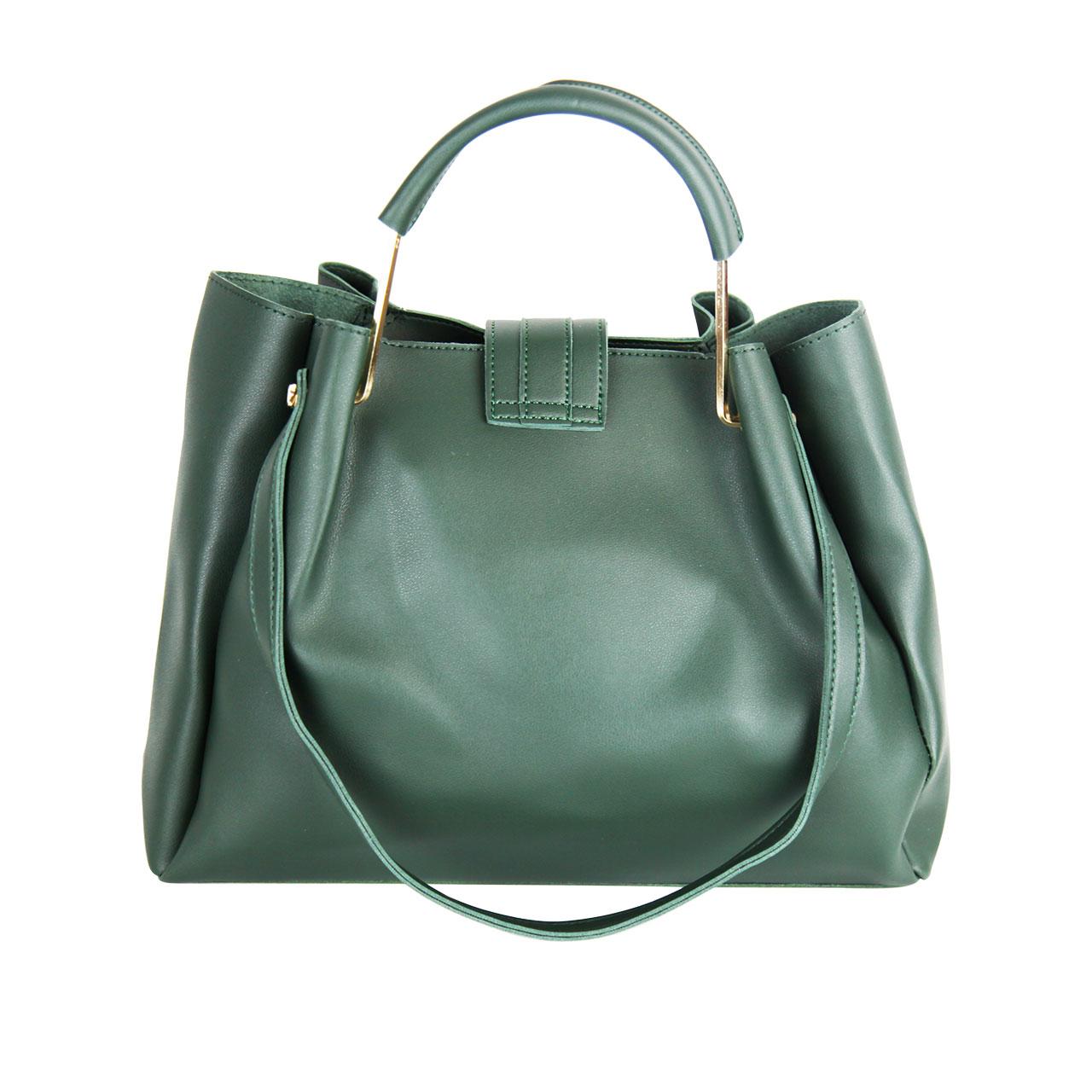 PU Crocodile Teal Blue/Green Handbag Bag Set For Women