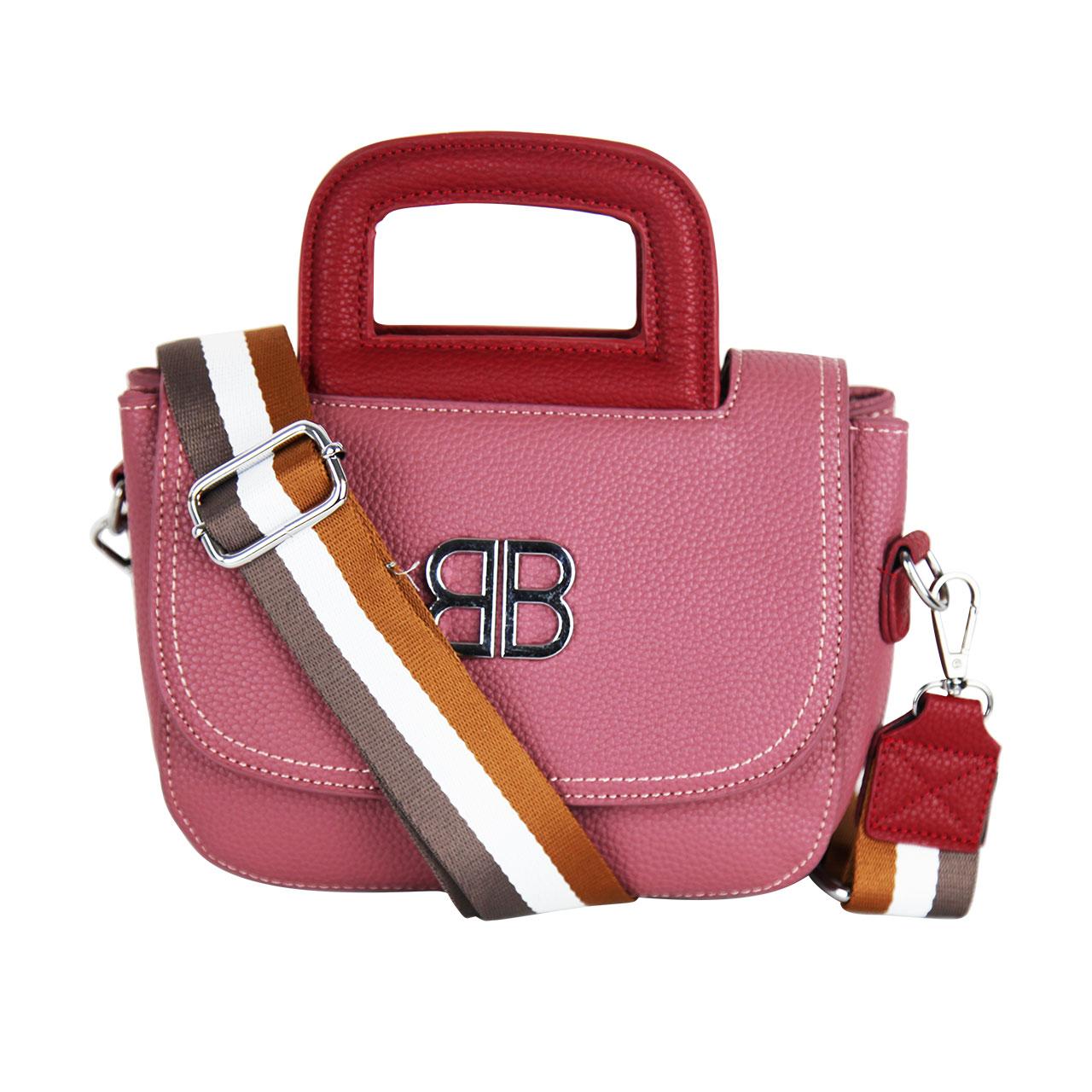 Cambridge Satchel Grey/ Ash Pink/ Orange/ Red Women's Bag