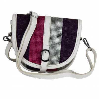 Multi-color Modern Stripes Tote/Crossbody Women's Bag