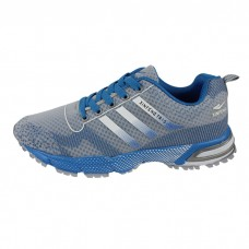 Lightweight Radium Blue Men's Athletic Shoe
