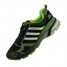 Lightweight Radium Green Men's Athletic Shoe
