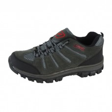 Men's Grey Mesh Running Shoes