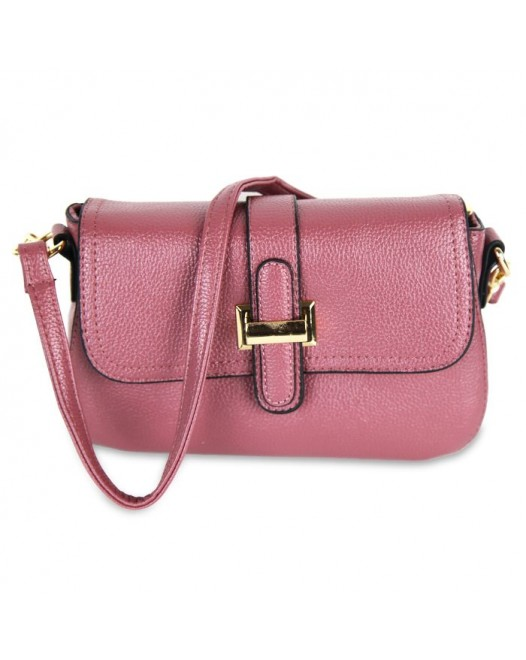 Leather Mini Clutch Cross Body Bag For Women