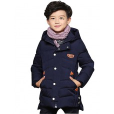 Boy's Han Edition Camouflage Trench Coat