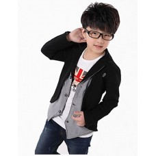 Boy Casual Cotton Fall Jacket & Coat
