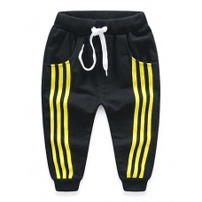 Boy's Casual Stripes Sports Long Pants