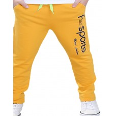 Boy Casual Cotton Spring Solid Pants