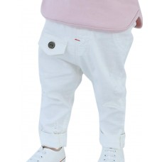 Boy Casual Cotton Solid Pants Spring