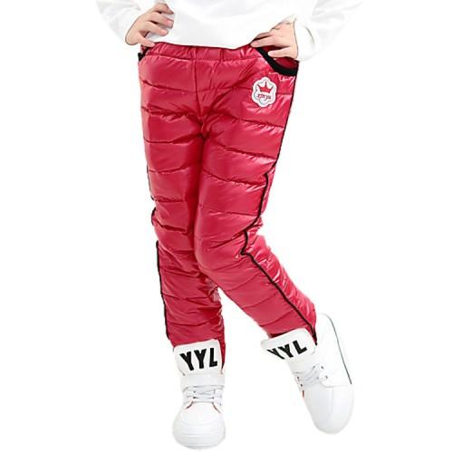 Children's Casual Cotton Solid Pants