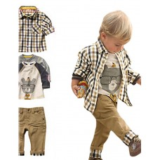 Boy's Cotton Polyester Clothing Set