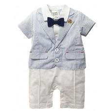 Boy Casual Rayon Summer Solid Sets