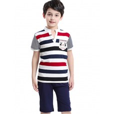 Boy's Cotton Summer Short Sleeve Tee