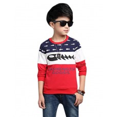 Boy Casual Solid Rayon Winter Blouse