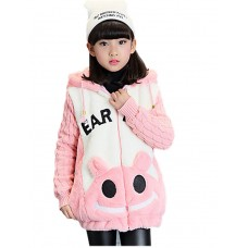 Girl's Casual Polyester Padded