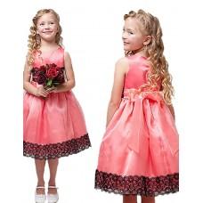 Girl's Leisure Rose Formal Dress
