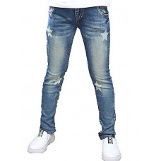Girl's Blue Star Cowboy Pants