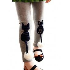 Girls Cotton Cartoon Leggings