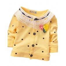 Girl's Cotton Fall Sweater & Cardigan