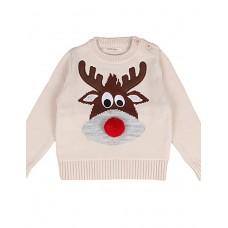 Girl's Animal Print Sweater & Cardigan