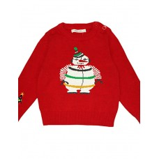 Unisex Jacquard Embroidered Sweater