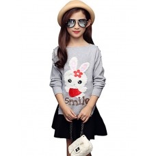 Girl Casual Polka Dot Fall Blouse