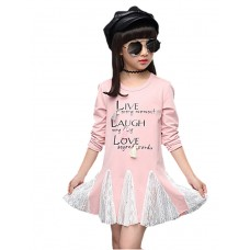 Girl Casual Cotton Solid Fall Shirt