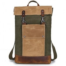 Men Canvas Solid Casual Backpack